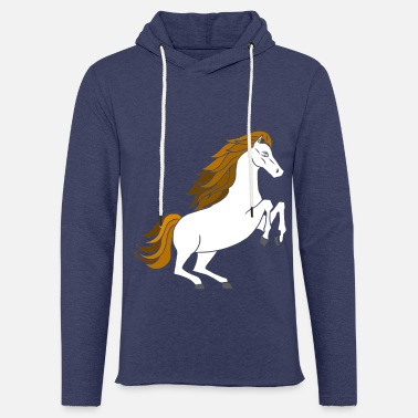 Birth Dressage horses and foals like the stable - Unisex Sweatshirt Hoodie