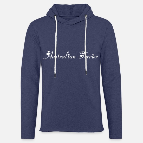 Cute Dog Hoodies & Sweatshirts - Australian Terrier purebred dog, dog breed - Unisex Sweatshirt Hoodie heather navy