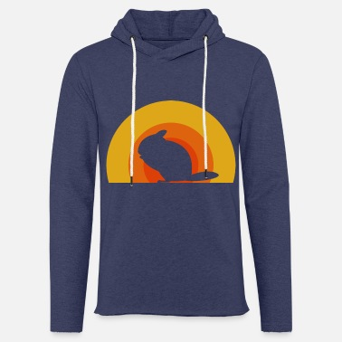 Chinchilla Holder Chinchilla Sunset | Gift for chinchilla holder - Unisex Sweatshirt Hoodie
