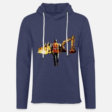 Digger Diggers and Dozers - Light Unisex Sweatshirt Hoodie