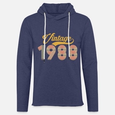 1988 1988 vintage birth year retro vintage - Unisex Sweatshirt Hoodie