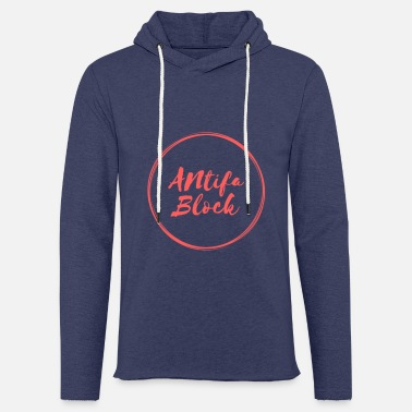 Antifa Antifa block - Light Unisex Sweatshirt Hoodie