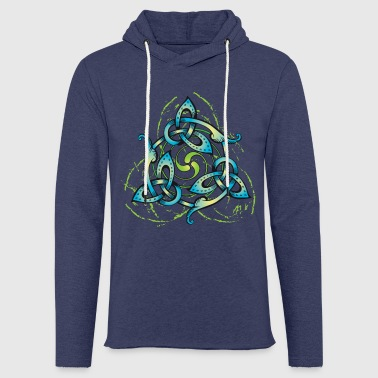 Celtic Flower - Light Unisex Sweatshirt Hoodie