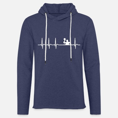 Waterpolo Heartbeat Waterpolo Club Team Club funny Cool - Light Unisex Sweatshirt Hoodie