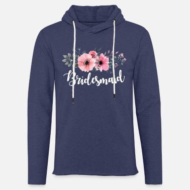 Bridesmaid Bridesmaid Gifts. Hen Do Party. Bachelorette Party - Light Unisex Sweatshirt Hoodie