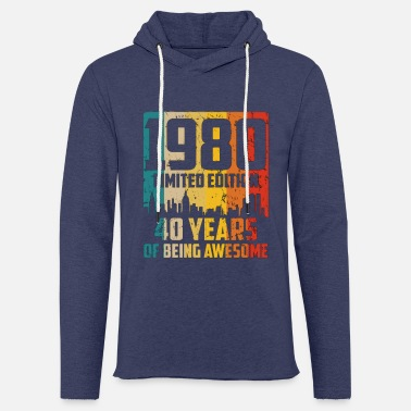 Since 1980 limited edition for 40th birthday - Unisex Sweatshirt Hoodie