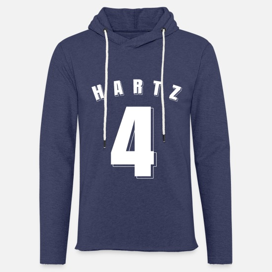 Hartz 4 Hoodies & Sweatshirts - Unemployed Shirt Unemployed Gift Hartz 4 - Unisex Sweatshirt Hoodie heather navy