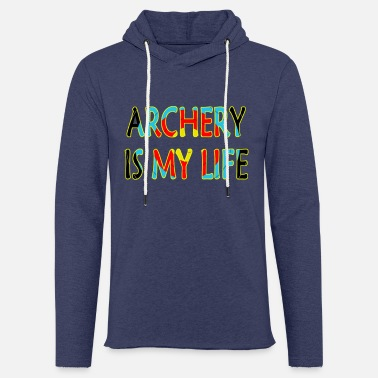 Achery is my life - Unisex Kapuzen-Sweatshirt