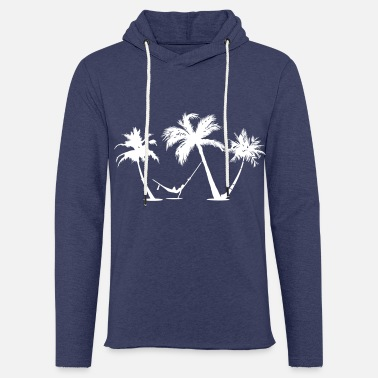 Palm Holiday under palm trees in a hammock - Unisex Sweatshirt Hoodie