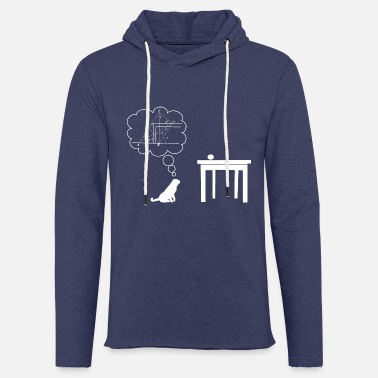 Wiskunde cat sciencest - Unisex sweatshirt hoodie