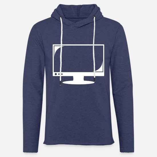 Play Hoodies & Sweatshirts - Bildschirm 2 - Unisex Sweatshirt Hoodie heather navy