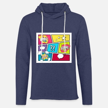 Pop STRIPVERHAAL Pop Art - Unisex sweatshirt hoodie