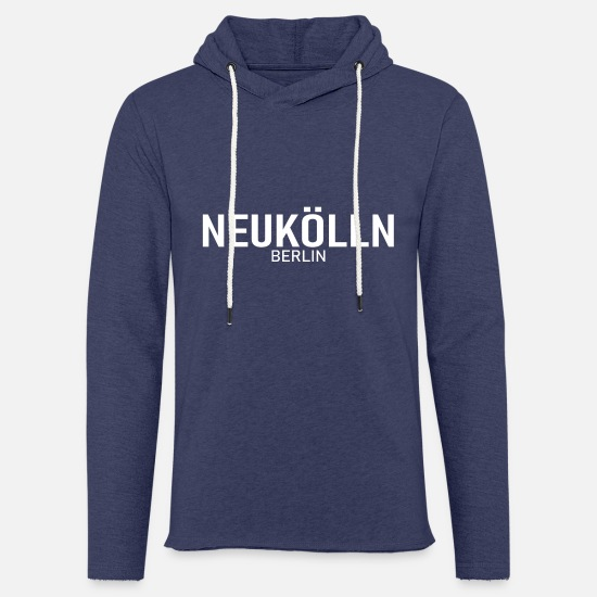 Berlin Hoodies & Sweatshirts - Neukölln - Berlin - Germany - Germany - District - Unisex Sweatshirt Hoodie heather navy
