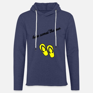 Sand sand and sun - Light Unisex Sweatshirt Hoodie