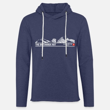 Alpine Club Britannia Hut Swiss Alpine Club - Unisex Sweatshirt Hoodie