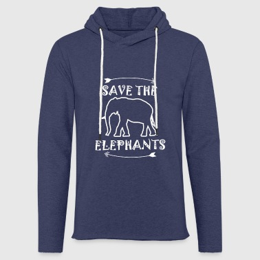 elephant - Light Unisex Sweatshirt Hoodie