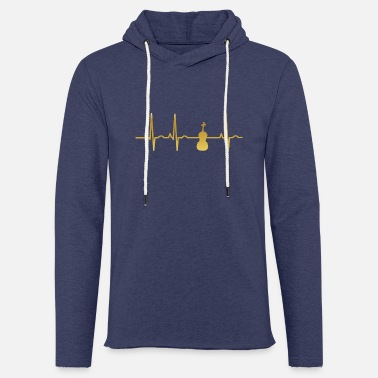Fiddle evolution ekg heartbeat fiddle fiddle - Unisex Sweatshirt Hoodie