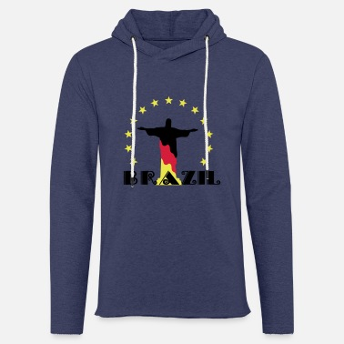 League Cool 2014 Brazil flag football Christ soccer - Unisex Sweatshirt Hoodie