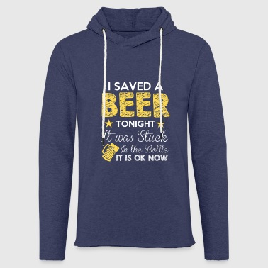 Beer is cool - Light Unisex Sweatshirt Hoodie