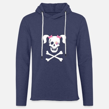 Zöpfe Piraten bitch, piratenbraut, Pirat - Unisex Kapuzen-Sweatshirt