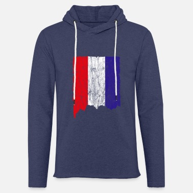 Used Look Niederlande Flagge Used Look - Unisex Kapuzen-Sweatshirt