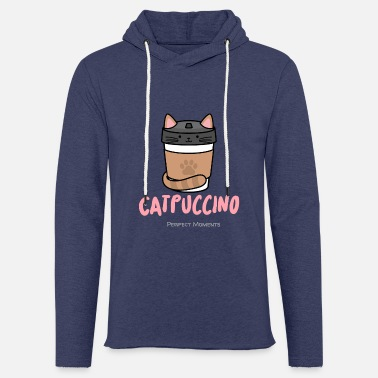 Puccino Cat - puccino .... gourmet coffee - Unisex Sweatshirt Hoodie