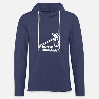 On The Road Again Wandermotiv - Unisex Kapuzen-Sweatshirt