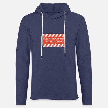 Flight Data Recorder FDR and CVR - Flight Recorder - Do Not Open - Unisex Sweatshirt Hoodie