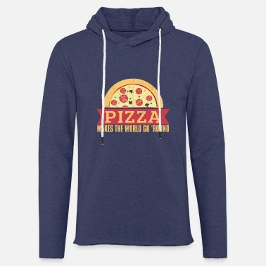Heart Pizza makes the world go 'round - Unisex Sweatshirt Hoodie