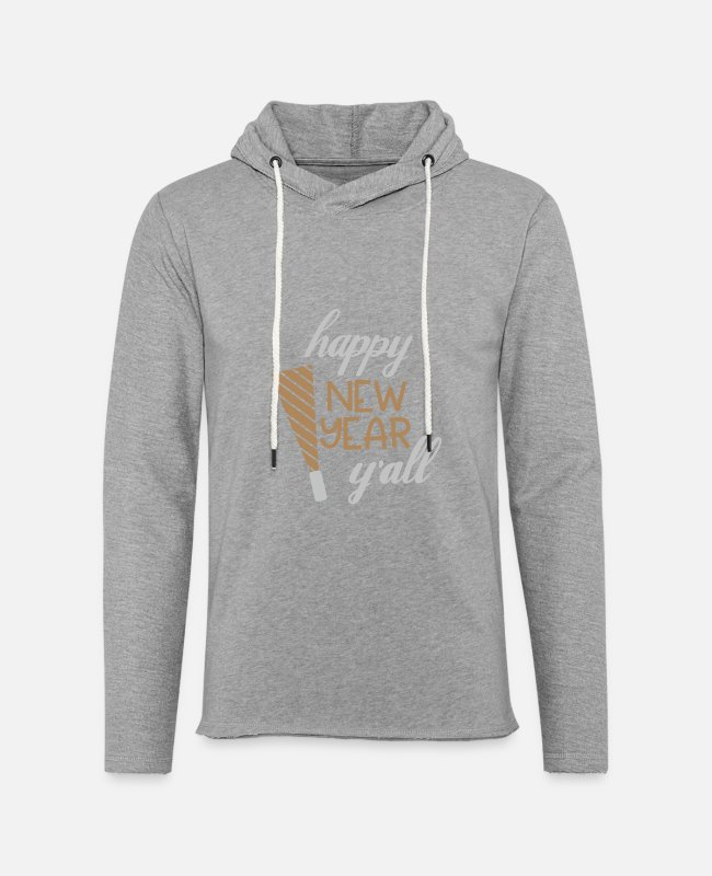 Happy New Year Hoodies & Sweatshirts - New Year New Years Eve New Years Eve - Unisex Sweatshirt Hoodie heather grey