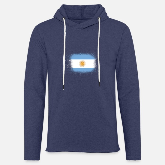 Birthday Hoodies & Sweatshirts - Spray logo claw flag home Argentina png - Unisex Sweatshirt Hoodie heather navy
