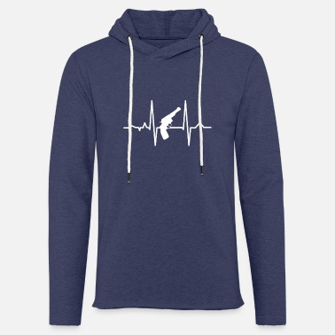 Heartbeat Guns Lover Heartbeats T-shirt - Unisex Sweatshirt Hoodie