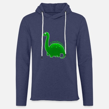Green Little Baby Saurus - Light Unisex Sweatshirt Hoodie