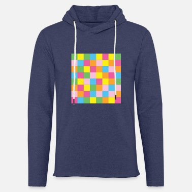 Colorful checkerboard - Unisex Sweatshirt Hoodie