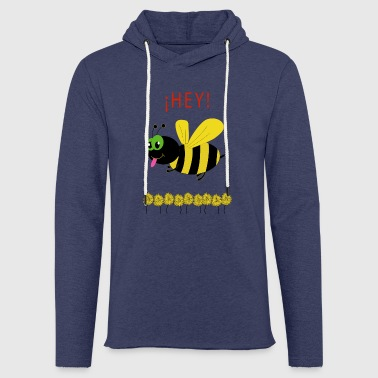 Funny bee - Light Unisex Sweatshirt Hoodie