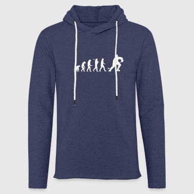 Eis Hockey Evolution Hockey! Eis-Hockey! Ice-Hockey - Leichtes Kapuzensweatshirt Unisex