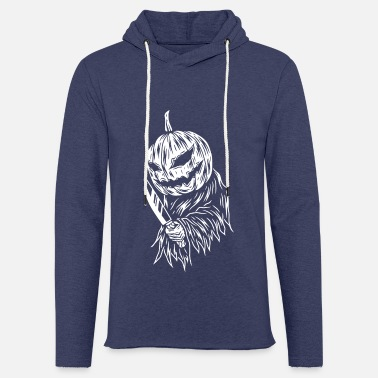 Scary PUMPKIN SCARY - Light Unisex Sweatshirt Hoodie