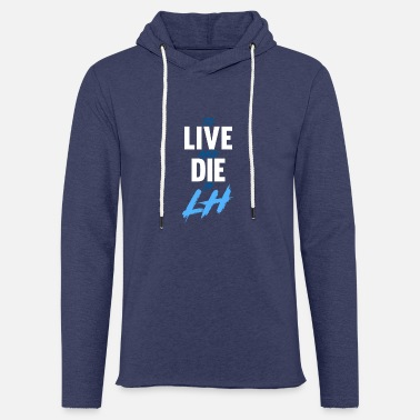 Le Havre TO LIVE AND DIE IN LH - Sweat-shirt à capuche léger unisexe