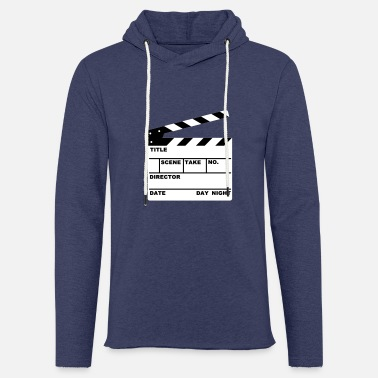 Cinema clapperboard (writable flex) - Unisex Sweatshirt Hoodie