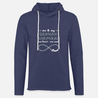 German me & my german shepherd doglovers dogs Infinity - Unisex Sweatshirt Hoodie