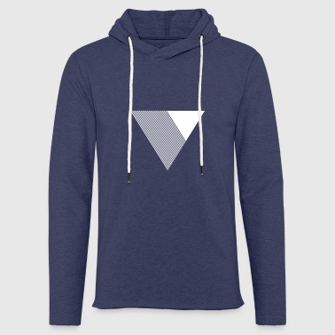 Monochrome Monochrome triangle - Light Unisex Sweatshirt Hoodie