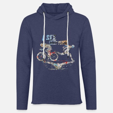 Triathlon - Sweat-shirt à capuche léger unisexe