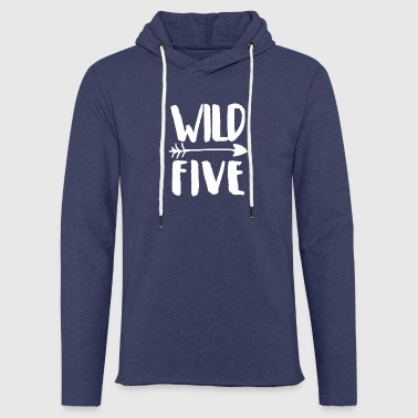 Five Wild Five - Sweat-shirt à capuche léger unisexe