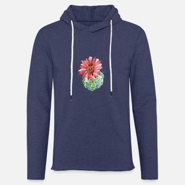 Cactus Watercolor Red Flower Cactus - Unisex Sweatshirt Hoodie