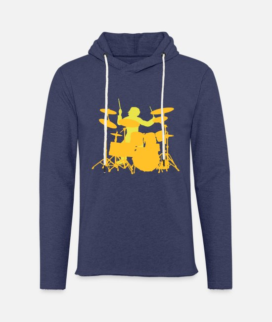 Pearl Hoodies & Sweatshirts - Drums - Unisex Sweatshirt Hoodie heather navy