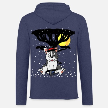 Homeless Cat Mouse Homeless Xmas Purr Money Donation - Unisex Sweatshirt Hoodie