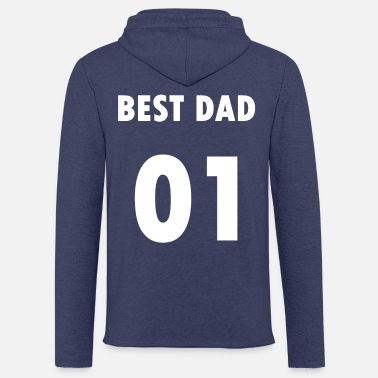 Best Dad - Sweat à capuche léger unisexe