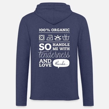 Tlc Fashionable Typographic Laundry Tag TLC i love - Unisex Sweatshirt Hoodie