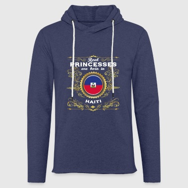 PRINCESS PRINCESS QUEEN BORN HAÏTI - Sweat-shirt à capuche léger unisexe