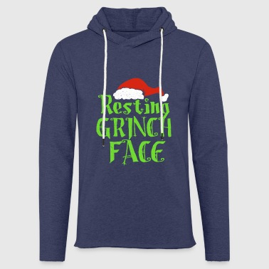 Resting Grinch Face - Light Unisex Sweatshirt Hoodie
